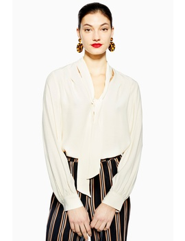 Pussybow Blouse by Topshop