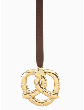Pretzel With Pave Ornament by Kate Spade