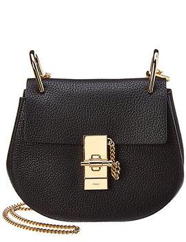Chloe Drew Mini Leather Shoulder Bag by Chloe