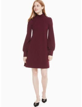 Mockneck Ponte Dress by Kate Spade