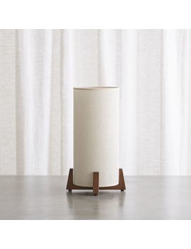 Weave Natural Table Lamp by Crate&Barrel