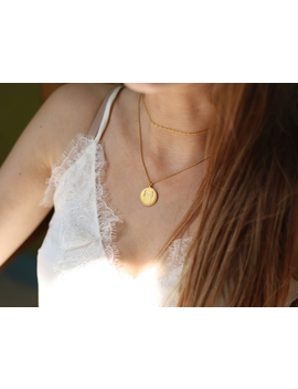 Body Language M Initial Necklace By Fee Greening by Missoma