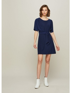Tie Side Jersey Shift Dress by Miss Selfridge