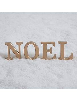 Noel Letters Decoration by Dunelm