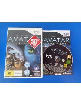 "Avatar The Game   Wii ""Australia"" by Ebay Seller"