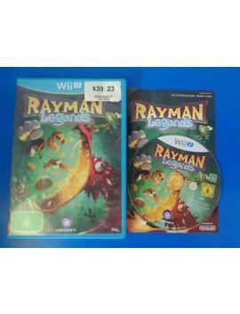 "Rayman Legends   Wii U ""Australia"" by Ebay Seller"