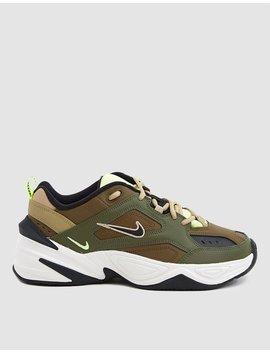 M2 K Tekno Sneaker In Medium Olive by Nike