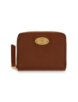 Mulberry Plaque Small Zip Around Purse by Mulberry