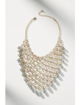 Net Bib Necklace by Anthropologie