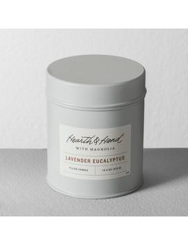 Tin Candle   Lavender Eucalyptus   Hearth & Hand™ With Magnolia by Hearth & Hand With Magnolia