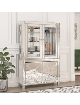 Willa Arlo Interiors Adriana Lighted Curio Cabinet & Reviews by Willa Arlo Interiors