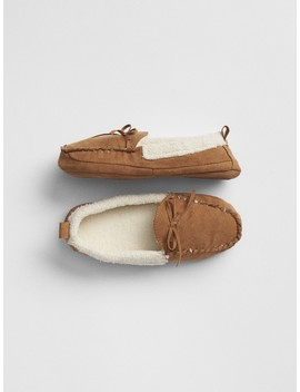 Cozy Moccasin Slippers by Gap