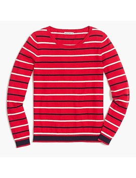 Peyton Mixed Stripe Sweater by J.Crew