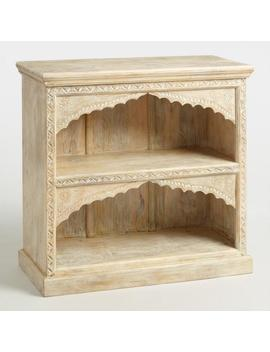 Whitewash Wood Jharokha Bookshelf by World Market