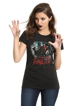 Michael Jackson Thriller Girls T Shirt by Hot Topic