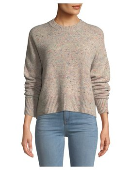 Emmeline Speckled Wool Cashmere Sweater by A.L.C.
