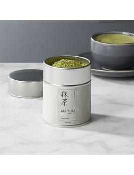 Organic Matcha Sei Classic Grade Tea by Crate&Barrel