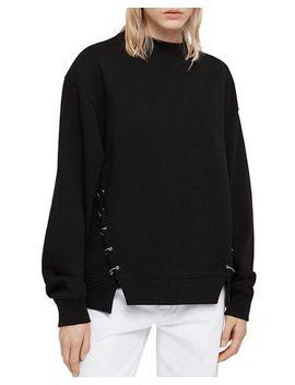 Mora Hardware Detail Sweatshirt by Allsaints