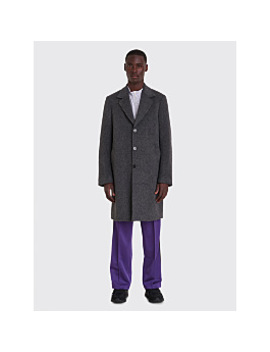 Très Bien Classic Coat Mohair Grey by Très Bien