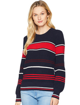 Cotton Bishop Sleeve Sweater by Lauren Ralph Lauren