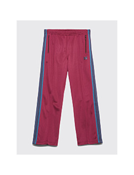Needles Track Pants Maroon by Très Bien