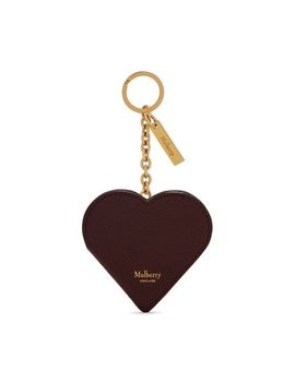 Heart Portrait Keyring by Mulberry