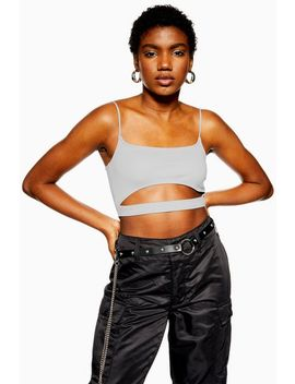 Cut Out Bralet by Topshop