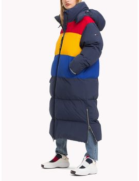Tommy Jeans Long Oversized Puffa Jacket by Tommy Hilfiger