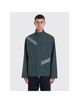 Kiko Kostadinov Gaetan Cut Through Jacket Green by Très Bien