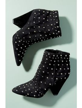 Sam Edelman Studded Suede Ankle Boots by Sam Edelman