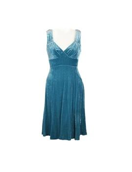 Blue Velvet Empire Waist Nanette Lepore Dress by Nanette Lepore