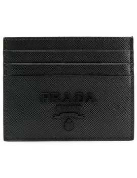 Porte Cartes à Plaque Logo by Prada