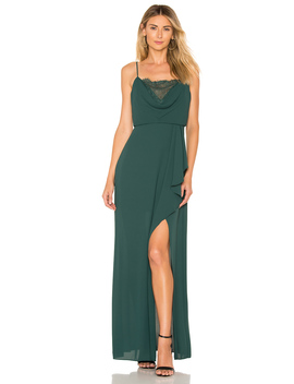 Lace Blouson Gown by Bcbgmaxazria