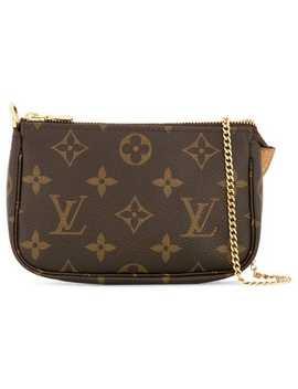 Mini Pochette Accessoires Hand Bag by Louis Vuitton Vintage