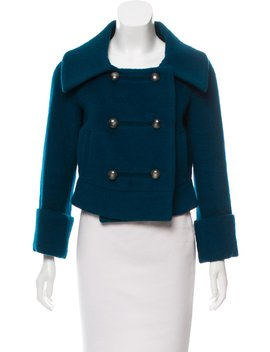 Lady Bird Wool Blend Coat by Diane Von Furstenberg
