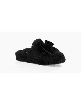 Addison Velvet Bow Slipper by Ugg