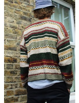 Vintage / 80's / Patterned Jumper by South Street Retro