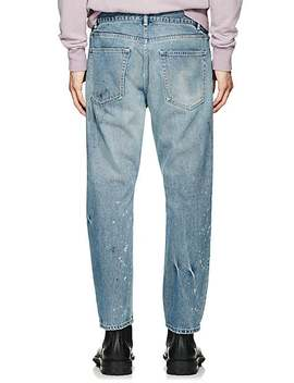 Kane 2 Distressed Crop Jeans by John Elliott