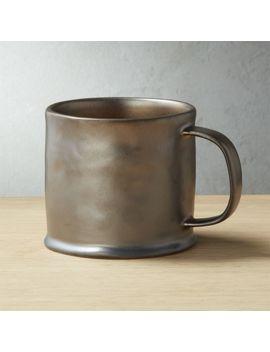 Brava Bronze Mug by Crate&Barrel