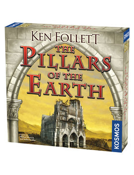 Ken Follett: The Pillars Of The Earth Board Game   English by Best Buy