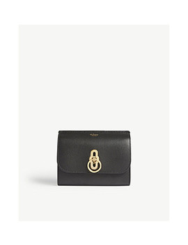Amberley Grained Leather Wallet by Mulberry
