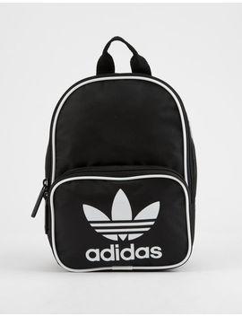 Adidas Originals Santiago Black Mini Backpack by Adidas