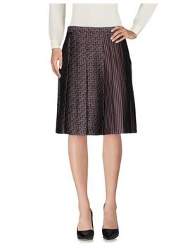 Diane Von Furstenberg Knee Length Skirt   Skirts by Diane Von Furstenberg