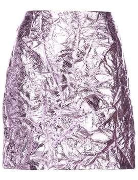 Metallic Mini Skirt by Sies Marjan