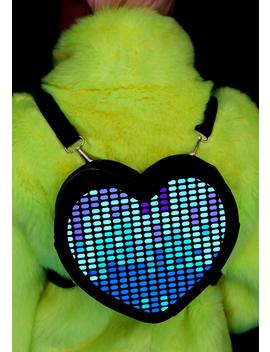 Electronic Love Light Up Backpack by Club Exx
