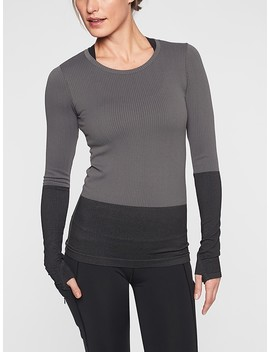 Flurry Colorblock Base Layer Top by Athleta