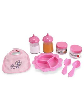 Melissa And Doug Time To Eat 8 Piece Feeding Set. by Argos