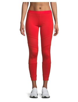 Performance Essentials Leggings W/ Mesh by Adidas By Stella Mc Cartney
