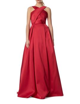 Cross Front Ball Gown by Ml Monique Lhuillier