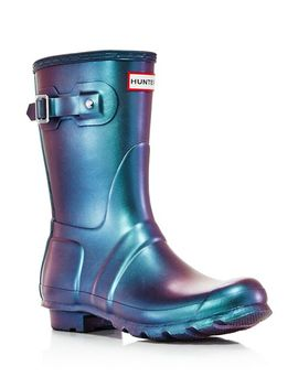 Women's Original Round Toe Waterproof Boots by Hunter